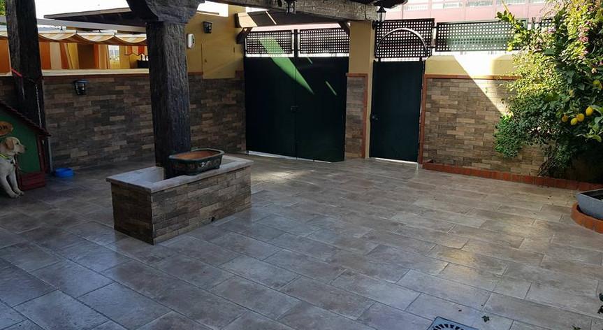 Ampliacion de patio, en zona diputación, Granada
