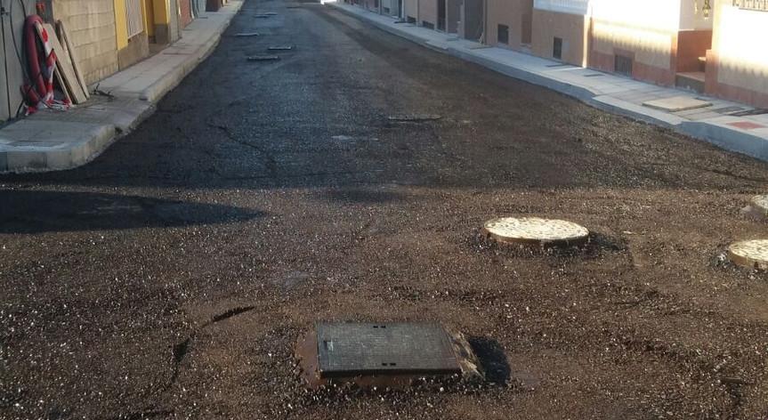 Rehabilitación de calles Huerta del Pino de Baza, Granada.