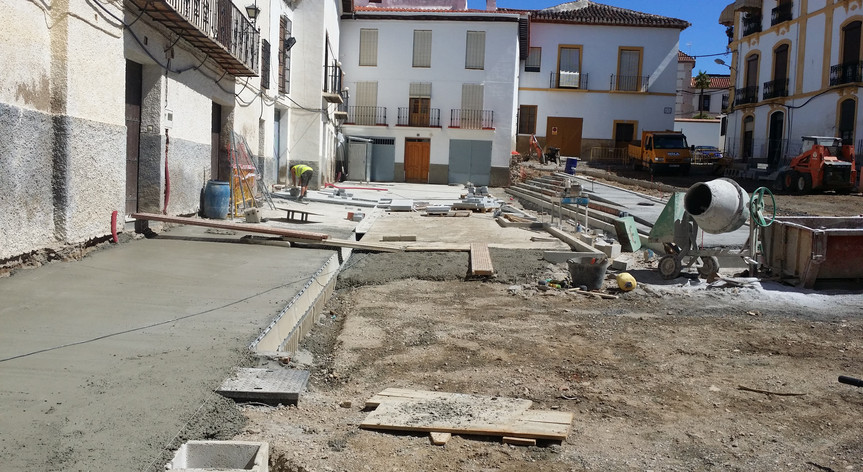 Reurbanización Plaza Conde Duque de Guadix, Granada