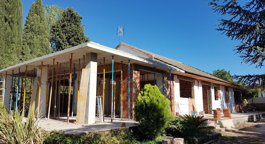 Ampliación de vivienda en Ogijares, Granada
