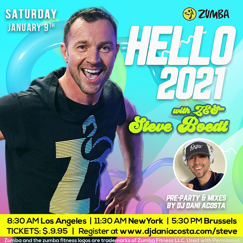 Hello 2021 with ZES Steve Boedt