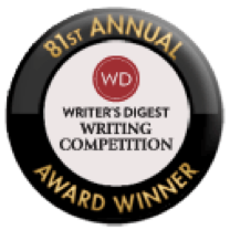 My Very First Writing Award - I'm So Excited!