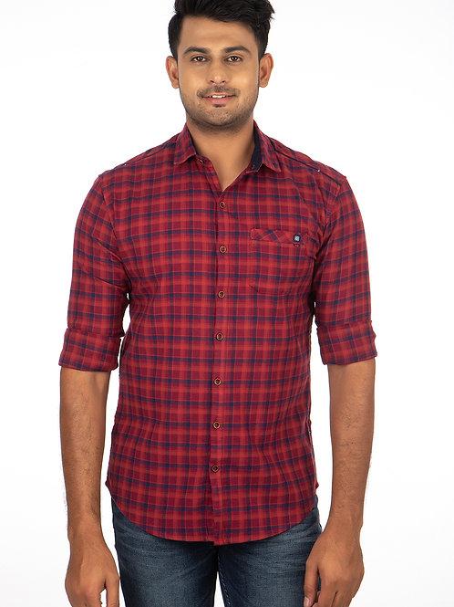 Chex Full Sleeve Shirt - 281
