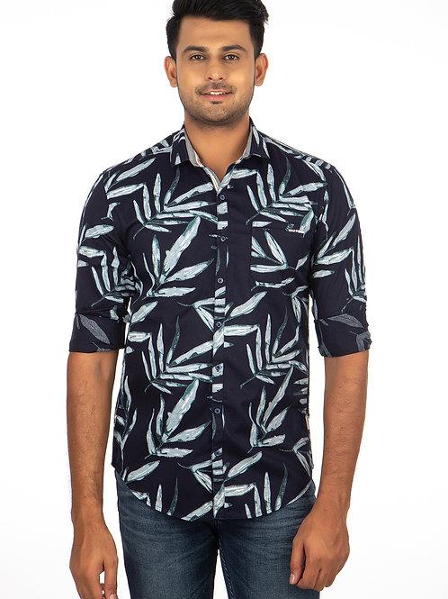 Leaf Printed Full Sleeve Shirt - 294