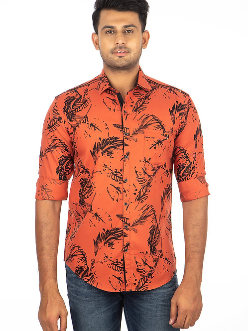 Twill Printed Full Sleeve Shirt - 279