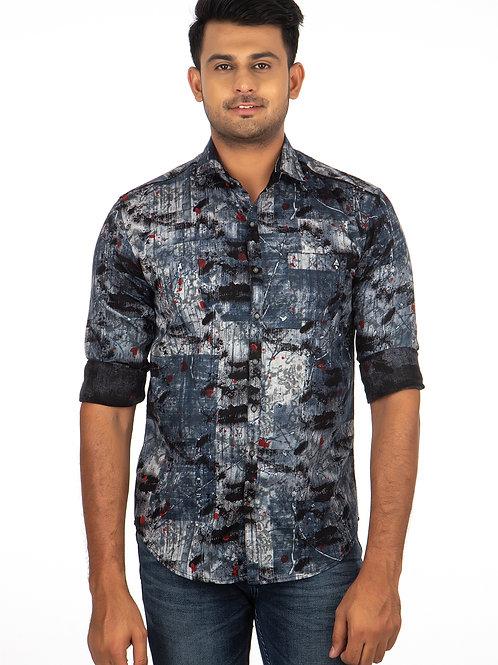 Digital Printed Full Sleeve Shirt - 296