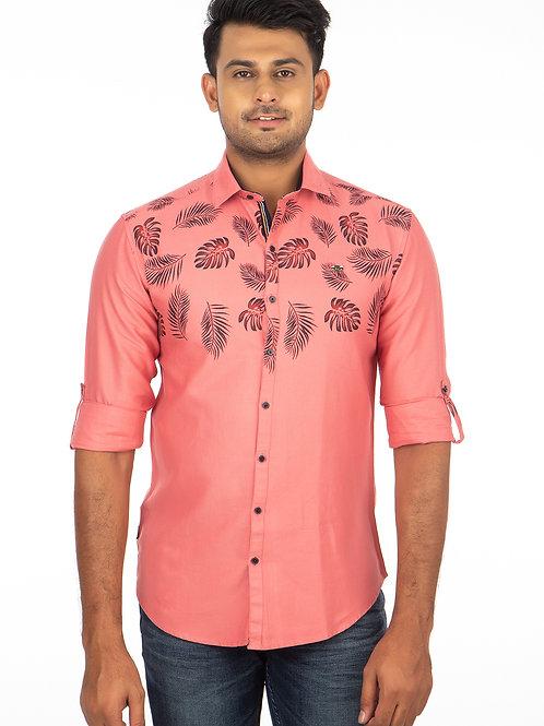 Printed Twill Full Sleeve Shirt - 259