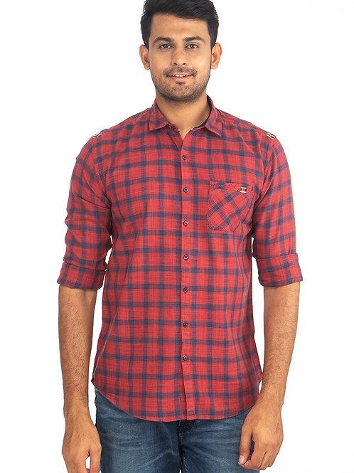Chex Full Sleeve Shirt - 6912
