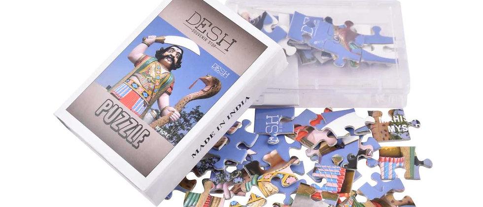 MAHISHASURA PAPER PUZZLE