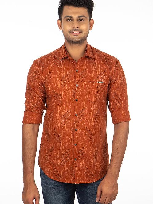 Self Printed Full Sleeve Shirt - 224