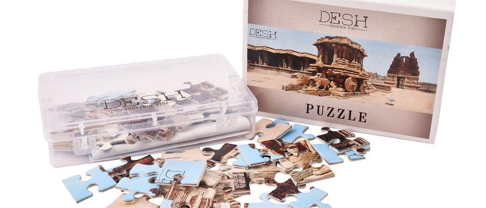 Hampi Paper Puzzle