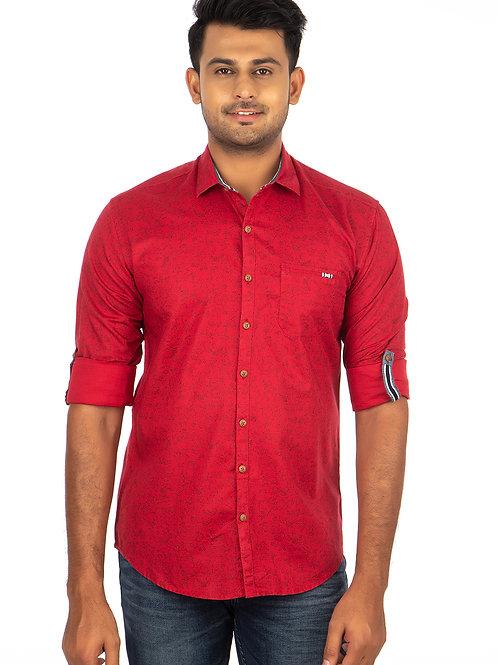 Self Printed Full Sleeve Shirt - 238