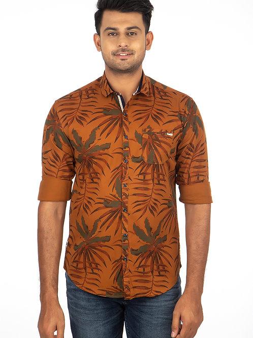 Leaf Printed Full Sleeve Shirt - 293
