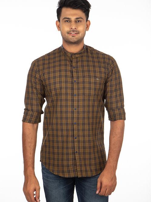 Check Kurta Style Full Sleeve - 299
