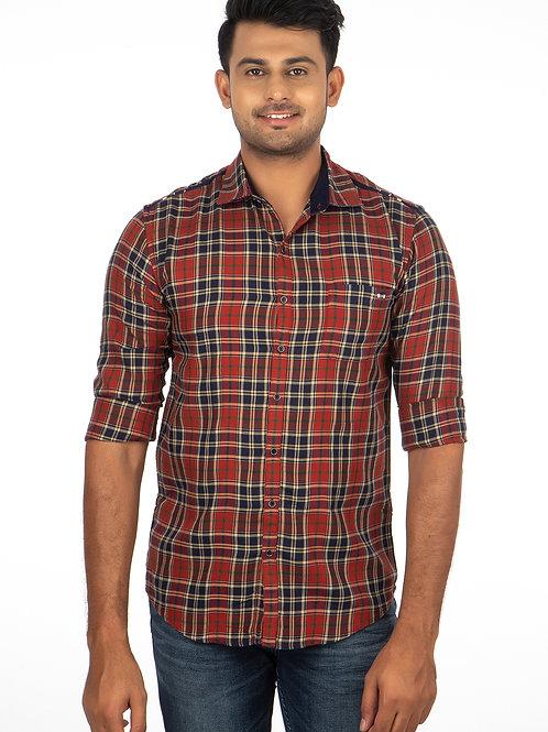 Chex Full Sleeve Shirt - 242