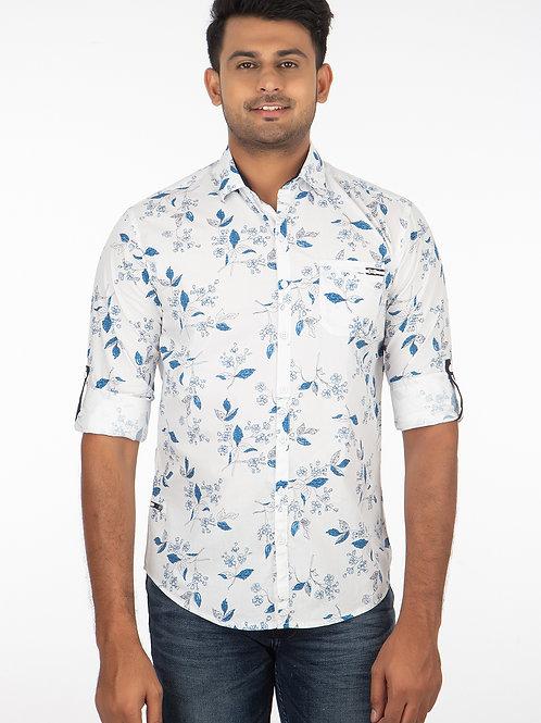 Floral Printed Full Sleeve Shirt - 183