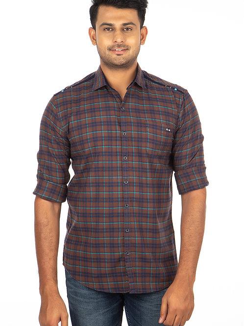 Chex Full Sleeve Shirt - 239