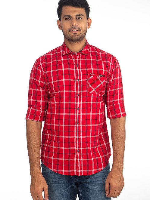Chex Full Sleeve Shirt - 8601