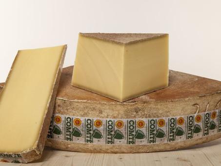 Le comté Le fromage sain et naturel