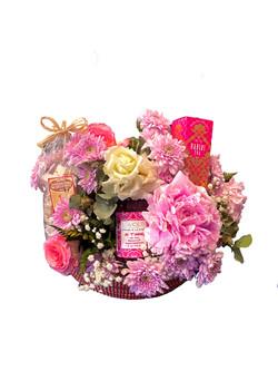 Panier fleuri 1
