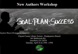 New Authors Workshop