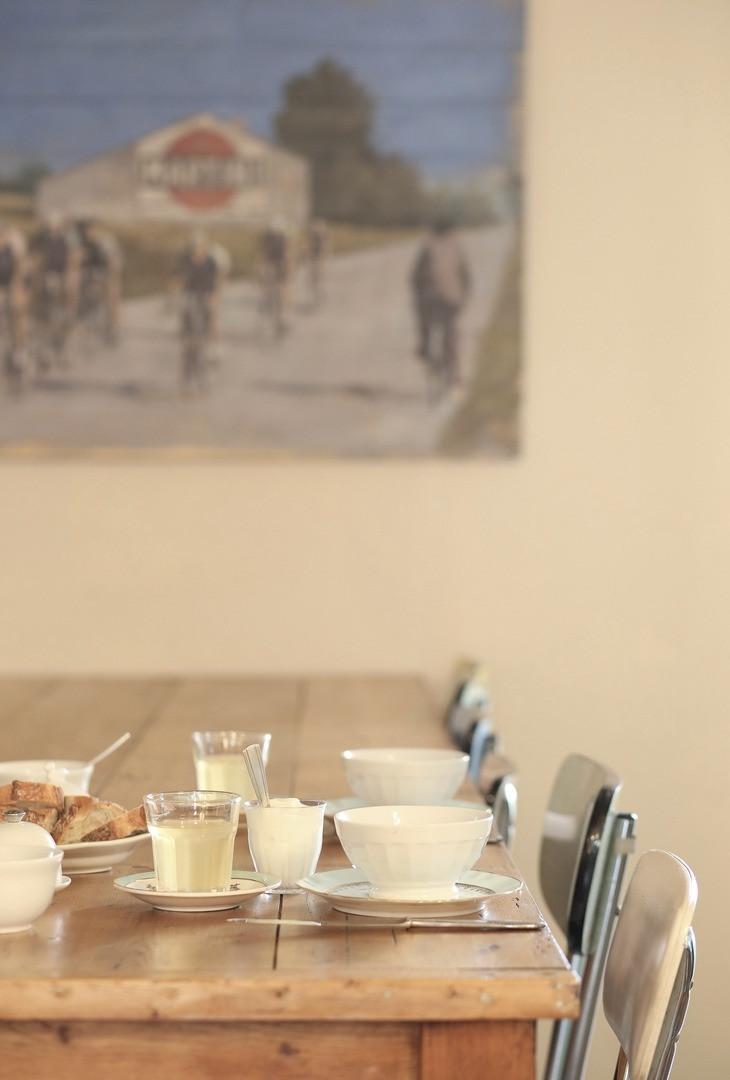 table en bois de café