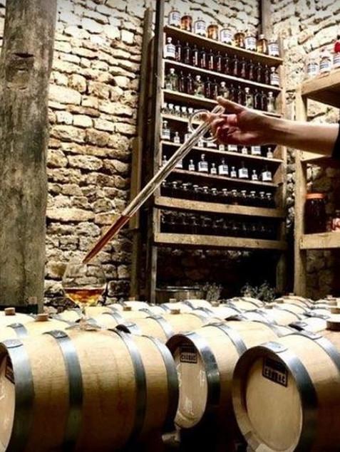 barriques de cognac