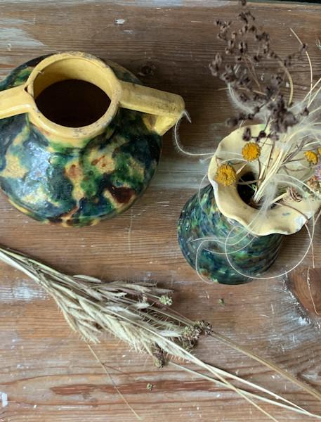 graminées et vases