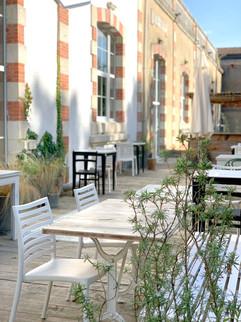 terrasse Blomkäl