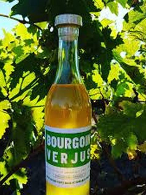 bouteille de verjus