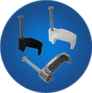 Full range of Cable Clips