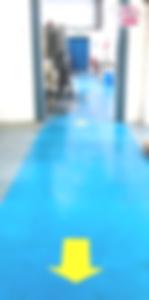PAN Social Distancing floor arrows edite
