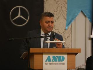 Ağır Nakliyeciler Derneği 2 nci Olağan Genel Kurul İstanbul' da Gerçekletirildi