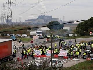Fransa' da Düzenlenen Protestolar.