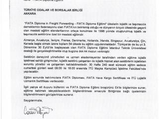 FIATA Diploma Eğitimi