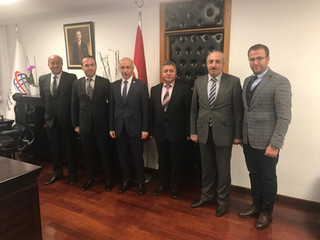 AND Heyeti Ulaştırma ve Alt Yapı Bakanı Sn. Selim DURSUN' u Ziyaret Etti.