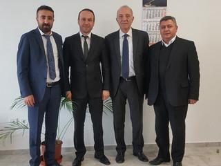 KGM Ulaşım Güvenliği ve Kontrol Şube Müdürü H. Hüsnü İLGÜN Ziyaret Edildi.