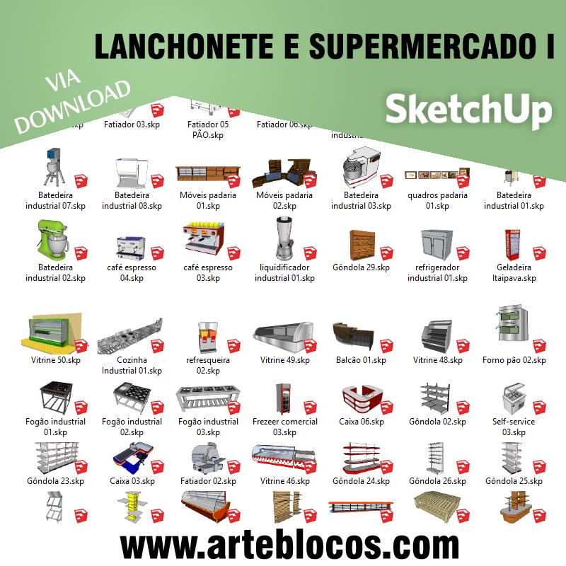 Lanchonete e Supermercado I