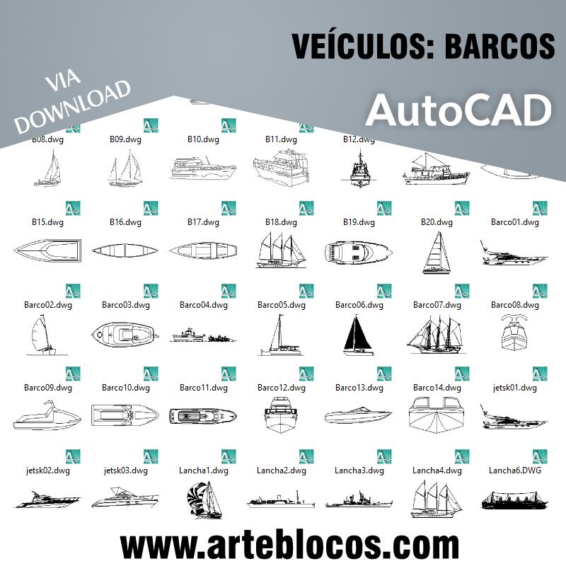 Veículos - Barcos