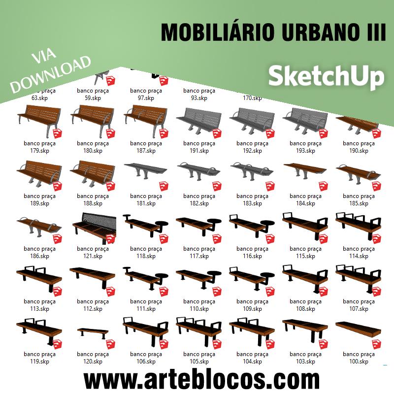 Mobiliário urbano III