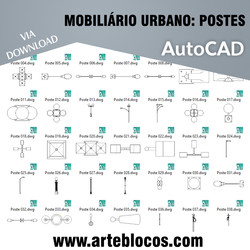 Mobiliário Urbano - Postes