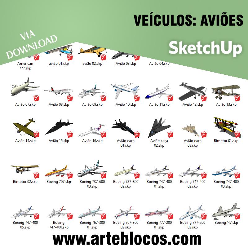Veículos - Aviões