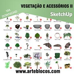 Vegetação e acessórios II