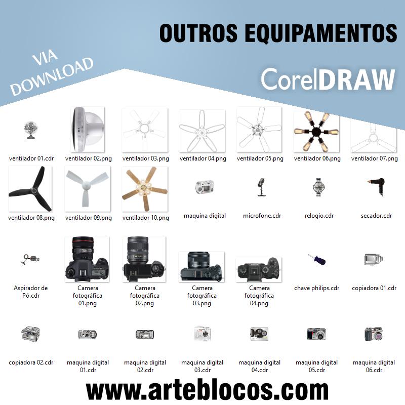 Outros equipamentos