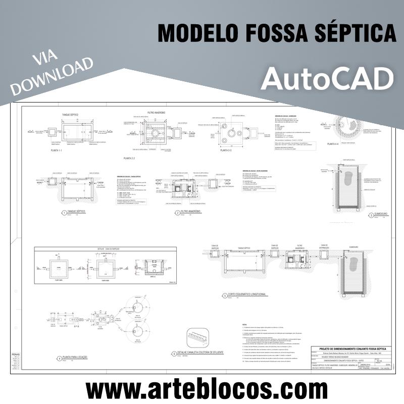 Modelo Fossa Séptica