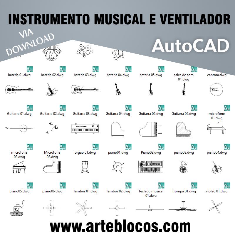 Instrumento musical e Ventilador