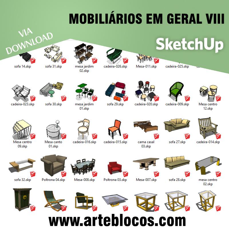 Mobiliário em geral VIII