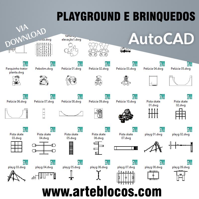 Playground e brinquedos