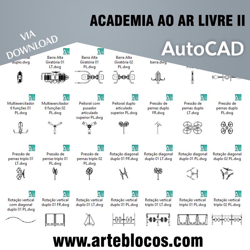 Academia ao ar livre II