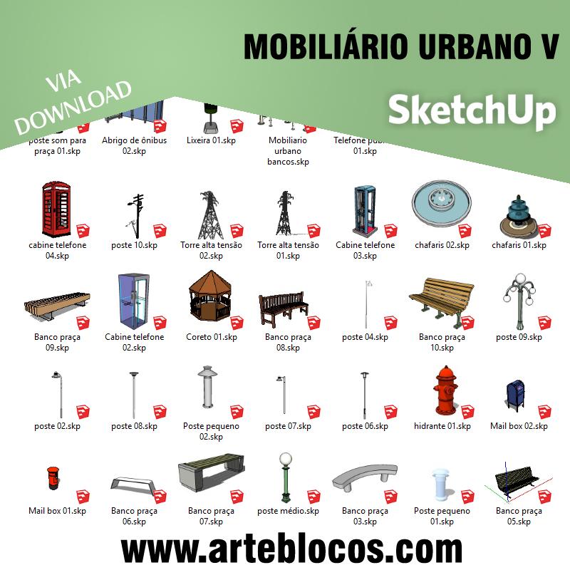 Mobiliário urbano V